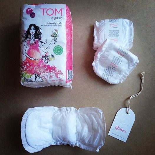 Hospital Bag Essentials - by Aimee of TOM Organic