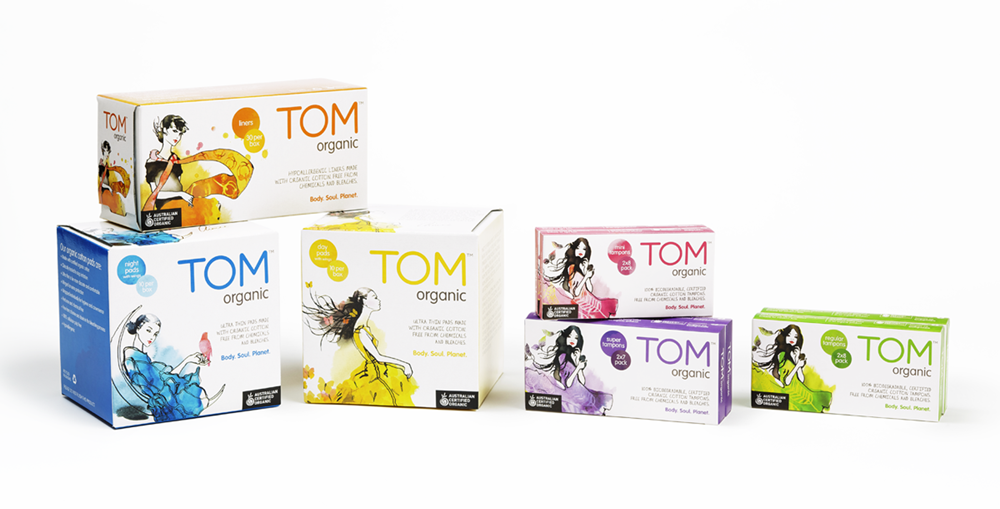 Organic Tampons & Pads - Why TOM Organic?