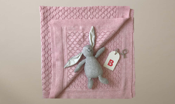 Blanket & Bunny Gift Bundle