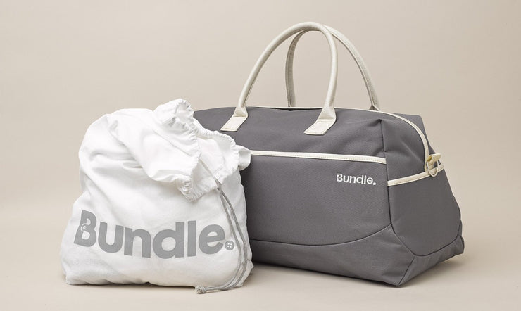 Bundle™ Designer Overnight Bag - Pre-Packed Maternity Hospital Bags - Bundle