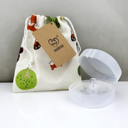 Haakaa Silicone Nipple Shield - 2 pack - Pre-Packed Maternity Hospital Bags - Bundle