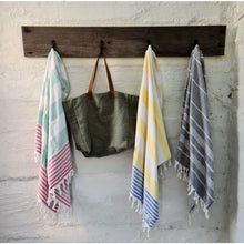 Load image into Gallery viewer, Dolphin Sands - Double sided Turkish Terry Towel Turkish Towel