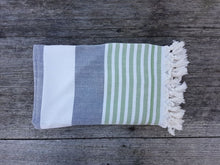 Load image into Gallery viewer, Hinsby Beach - Double sided Turkish Terry Towel