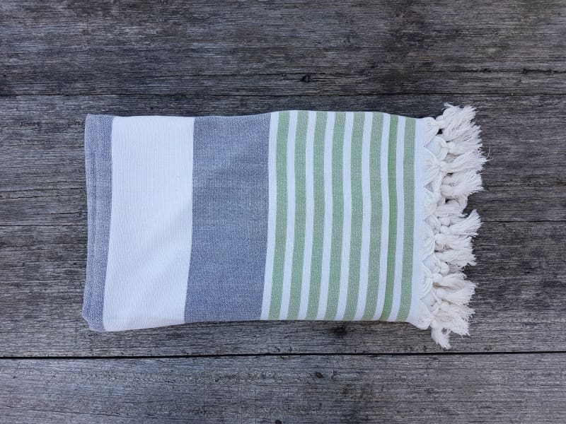 Hinsby Beach - Double sided Turkish Terry Towel