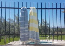 Load image into Gallery viewer, Redbill Beach - Double sided Turkish Terry Towel