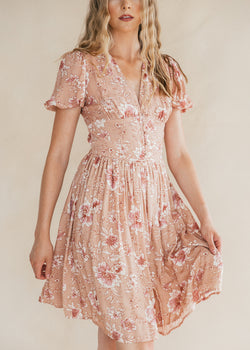 Apple Valley Floral Dress