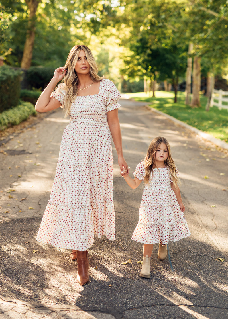 Meadow Whispers Floral Dress