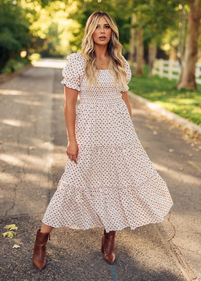 Melanie Floral Maxi Dress