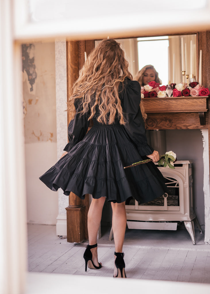 Twilight Velvet Wrap Dress