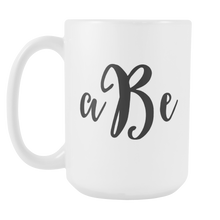 Custom Monogram Mug - Personalized Coffee Cup with Initials - Luxury Office Accessories - LetterLuxe