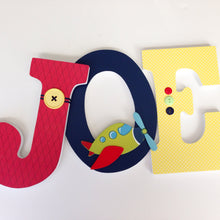 Airplane Letter Set - Baby Shower Decorations - LetterLuxe - LetterLuxe
