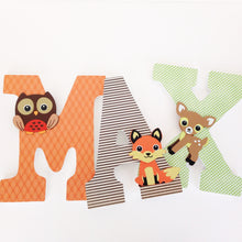 woodland letters