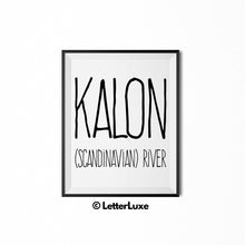 Kalon Personalized Bedroom Decor - Birthday Party Decorations - Gift for Dad or Brother