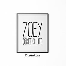 Zoey - (Greek) life