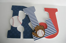 Baseball Letter Set - Sports Nursery Decor for Baby Boys - LetterLuxe - LetterLuxe