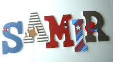 Football Letter Set - Sports Nursery Decor for Baby Boys - LetterLuxe - LetterLuxe