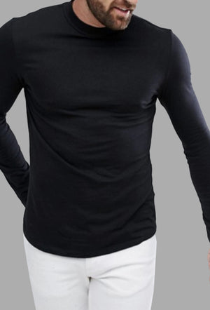 Pima cotton long sleeve