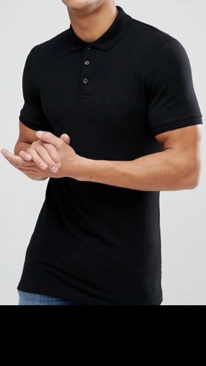 100% Pima cotton polo