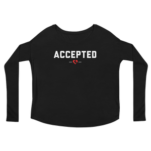 ACCEPTED Long Sleeve Tee