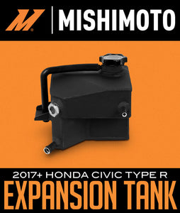 MISHIMOTO ALUMINUM EXPANSION TANK: 2017+ HONDA CIVIC TYPE R FEBRUARY 1, 2019