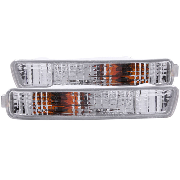 ANZO - 1994-1995 Honda Accord Euro Parking Lights Chrome