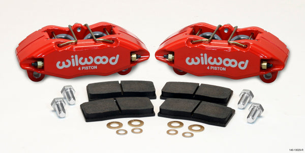 Wilwood DPHA Front Caliper & Pad Kit Red Honda / Acura w/ 262mm OE Rotor - Neo Garage