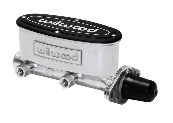 Wilwood High Volume Tandem Master Cylinder - 1 1/8in Bore Ball Burnished - Neo Garage