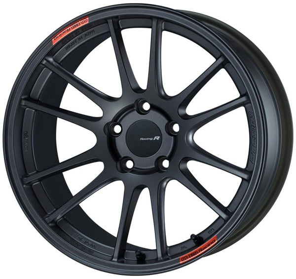 Enkei GTC01RR 18x10.5 5x114.3 15mm Offset Matte Gunmetallic Wheel - Neo Garage