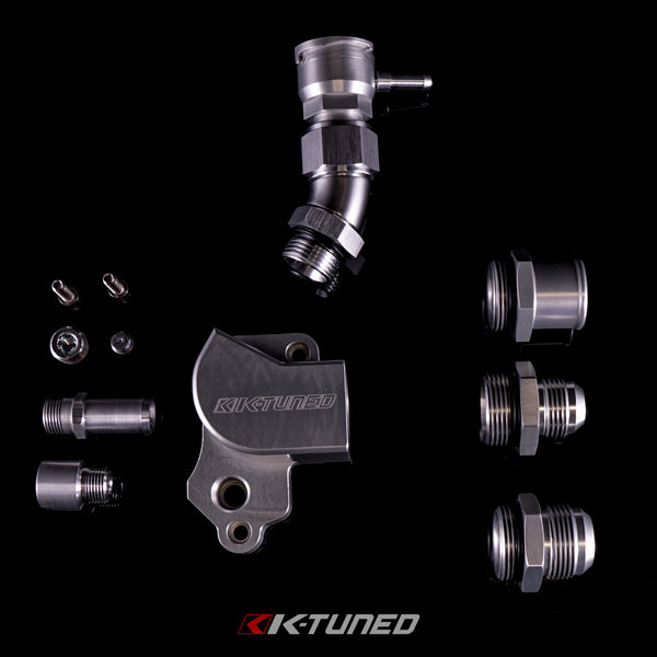 K-Tuned - K20 Upper Coolant Housing with Filler - Neo Garage