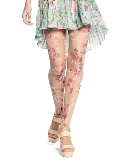 Renew Summer & Winter Outfits With Floral Print Tights