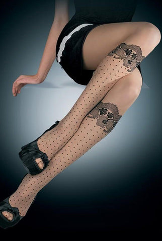 Oroblu Alida Sheer Knee High Effect Tights