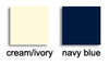 Available colours in Australia for the tights Educata, the colours are ivory and navy blue.