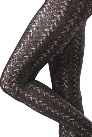 Oroblu Crochet Effect Pattern Tricot Tights
