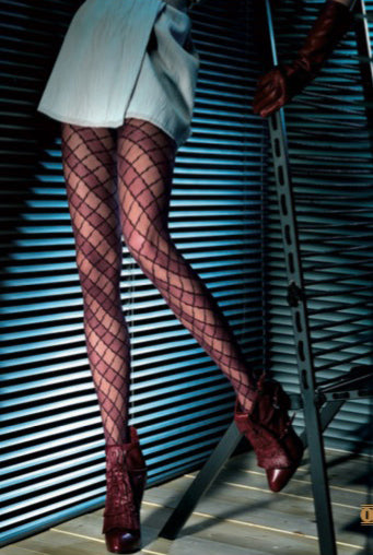 Oroblu Estelle Geometric Sheer Tights