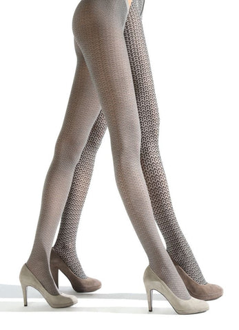 Franzoni Como Reversible Herringbone Tights
