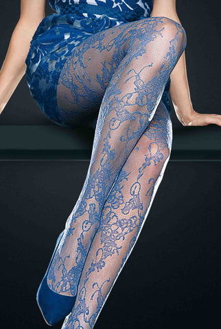 Oroblu Elaine Lace Floral Sheer Tights