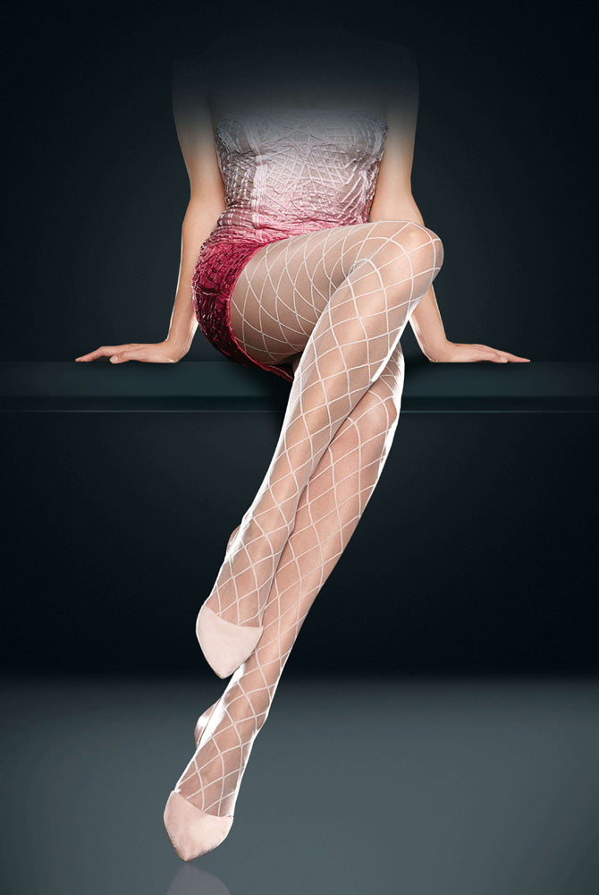 Oroblu Addison Large Net Pattern Sheer Tights