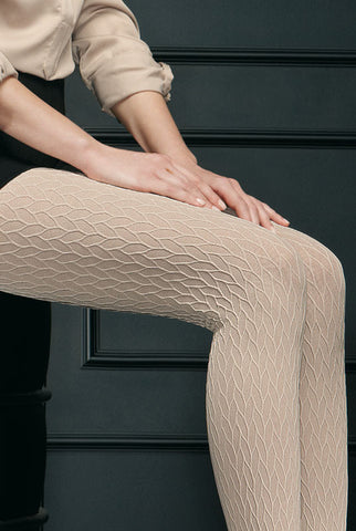 Oroblu Dune Relief Pattern Opaque Tights