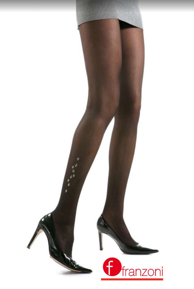 Franzoni Starlettes Strass Semi Opaque Tights