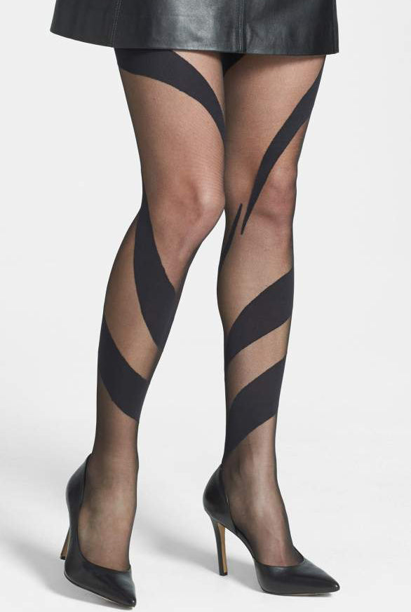Oroblu Kimberly Snake Pattern Sheer Tights