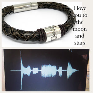 Sound wave Bracelet, Sound wave Jewellery, Voice Wave Bracelet, Baby Heart Beat, Ultra Sound Wave Form, Personalised Bracelet, Sound Wave