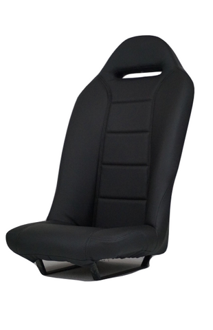 EIEO Bucket Seat for Roxor, Black no pocket