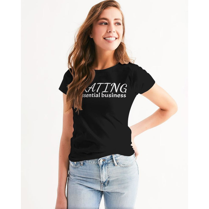 Skating Is Essential Business Women's Tee