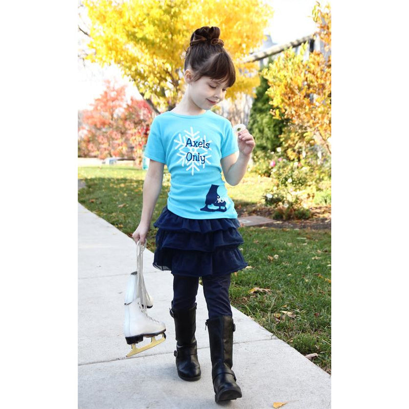 Girl's Axels Only Tee
