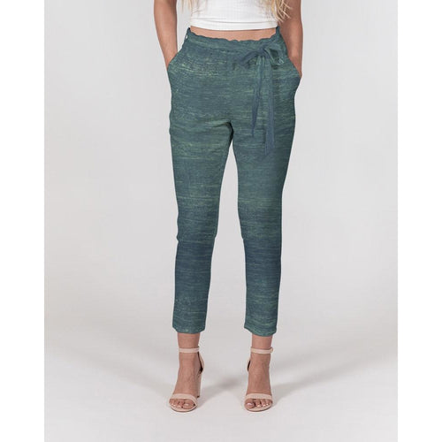 Women's Fade To Green Belted Pants