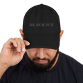 Black Ice Distressed Hat