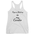 Figure Skating Is My Cardio Racerback Tank