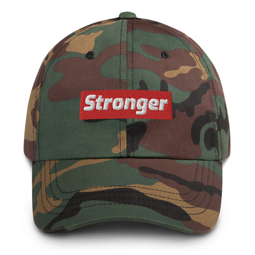 stronger camo ball cap