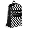 Checkered Hockey Backpack