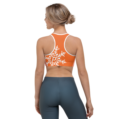 Orange Crush Sports Bra